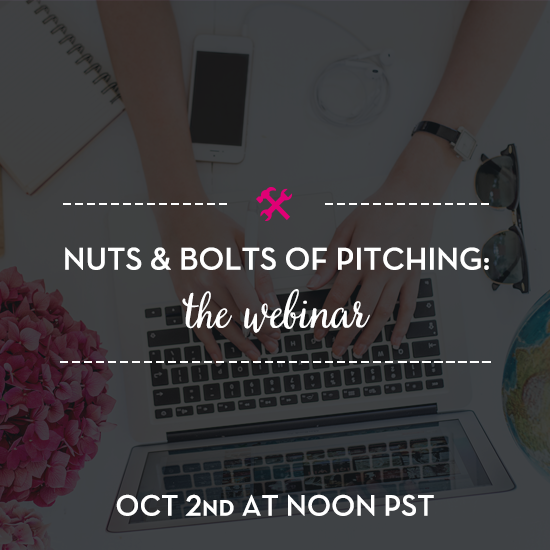 nuts and bolts of pitching