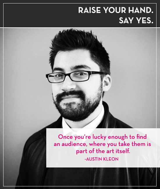 Austin Kleon on the Raise Your Hand Say Yes podcast with Tiffany Han