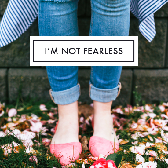 I'm not fearless Tiffany Han