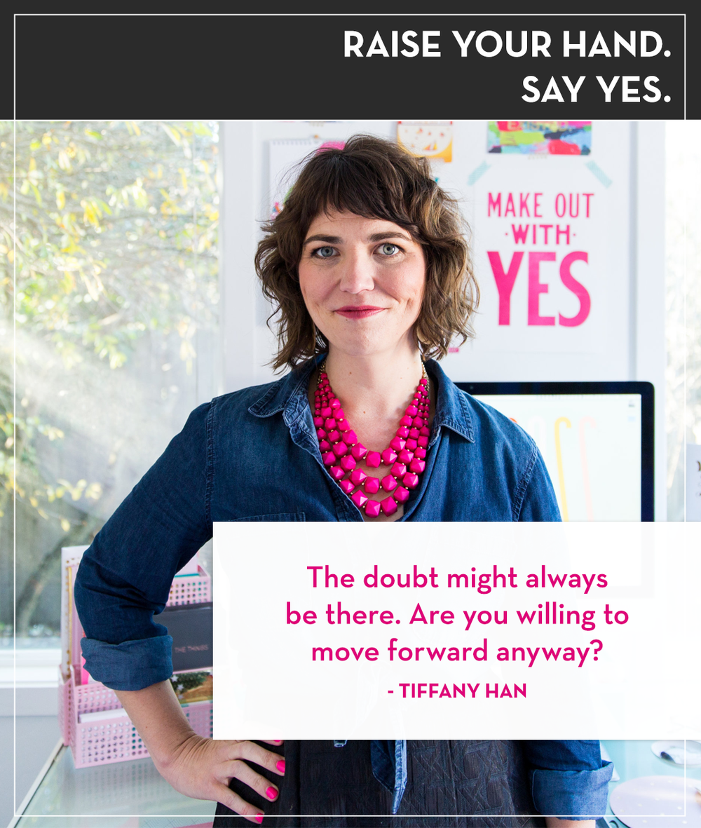 Raise your Hand Say Yes with Tanya Geisler