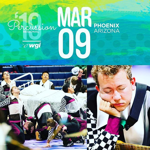 WGI Phoenix Regional! Time to lose some sleep... Are you ready to count sheep with us?  Join us at Desert Ridge HS in Mesa!  Prelims Lot: 11:00am Prelims Performance Time: 2:24pm  Finals Lot: 5:15pm Finals Perfornance Time: 8:28pm  SEE YOU THERE!  #BT2019 #Breakthrough2019 #PIW #WorldClass #WGI #WGIphoenixregional #wgipercussion #WGAZ #Zildjian #VicFirth #MapexDrums #MajesticPercussion #EvansDrumheads #DAddario #RandallMay #PlanetWaves #WinterGuardTarps #MarchingArtsInc