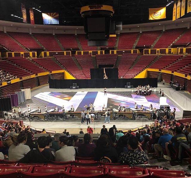 WGAZ Championships 2019!  We're back in rehearsal today as we prepare for WGI!  Next up, Dayton - Let's go!!! PC: Preston Howard  #Dayton #BT2019 #Breakthrough2019 #PIW #WorldClass #WGI #WGAZChamps #wgipercussion #WGAZ #Zildjian #VicFirth #MapexDrums #MajesticPercussion #TitanFieldFrames #presonus #studiolive #EvansDrumheads #DAddario #RandallMay #PlanetWaves #WinterGuardTarps #MarchingArtsInc