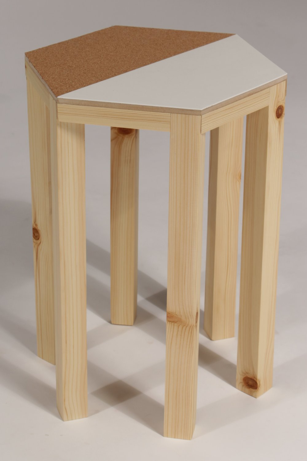 geometric side table 2 crane away rebecca howson