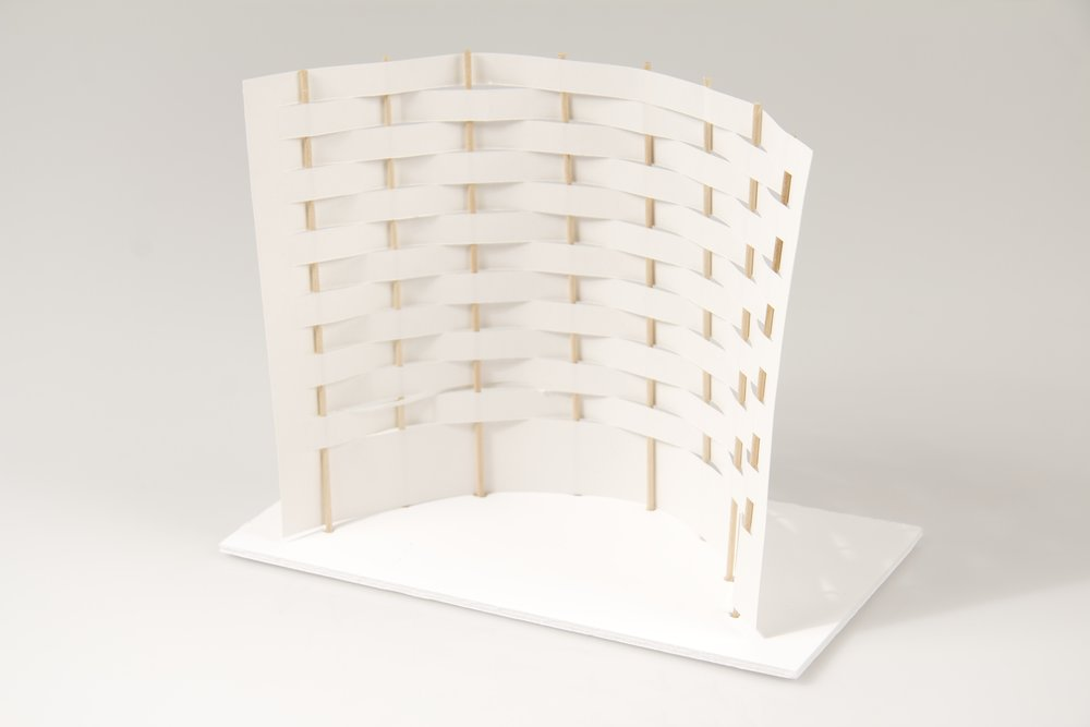 japanese screen maquettes 10 crane away rebecca howson