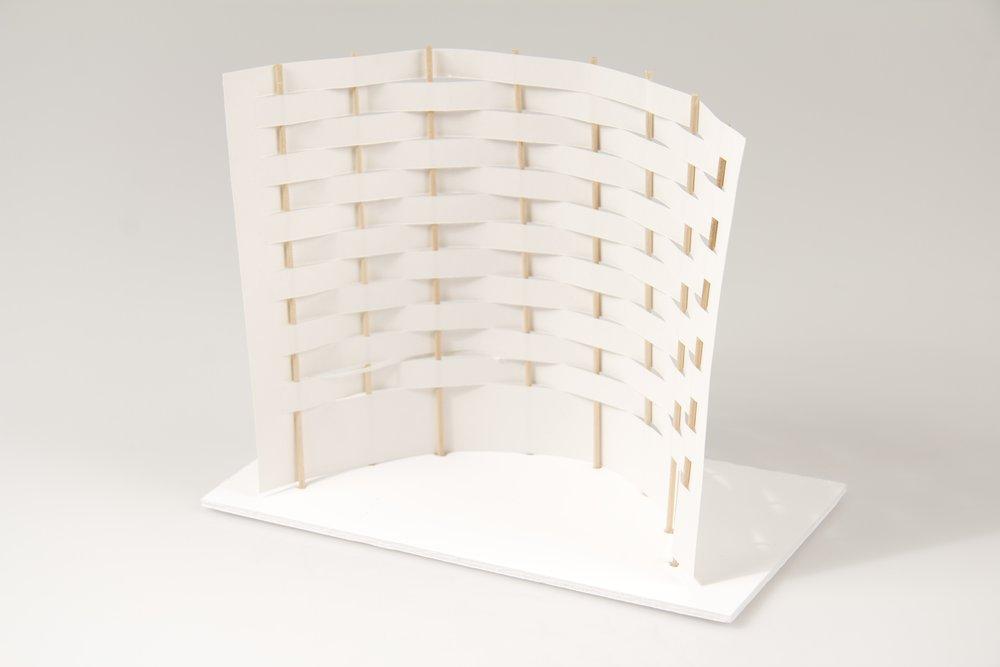 japanese screen maquettes 10 crane away rebecca howson