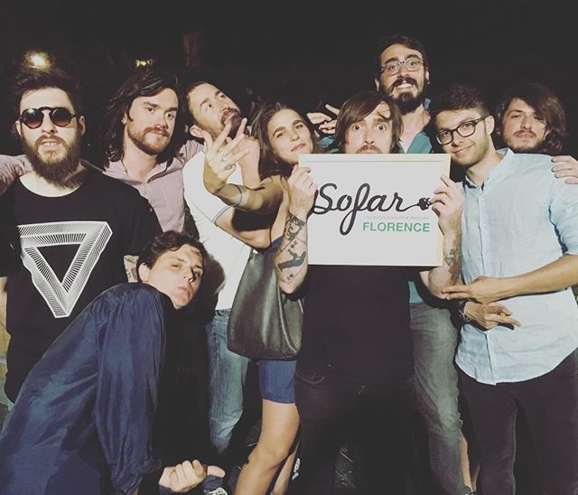 Back in March we performed our first #sofarsounds in Dallas. Awesomeness. Tonight we can underline the awesomeness @sofarsounds Firenze. Thanx for the vibes! #firenze #people #warm #intimate #meet #talk #listen #nothingforbreakfastclub