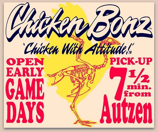 Digital advertising for Chicken Bonz in Eugene, OR / Emerald Media Group 2013.