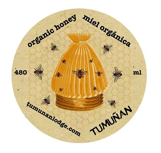 Label for Tumuñan honey (2014)