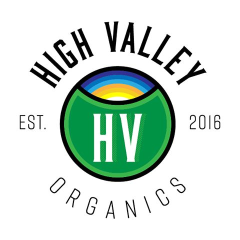 Logo concepts for @highvalleyorganics (2016, 2017)