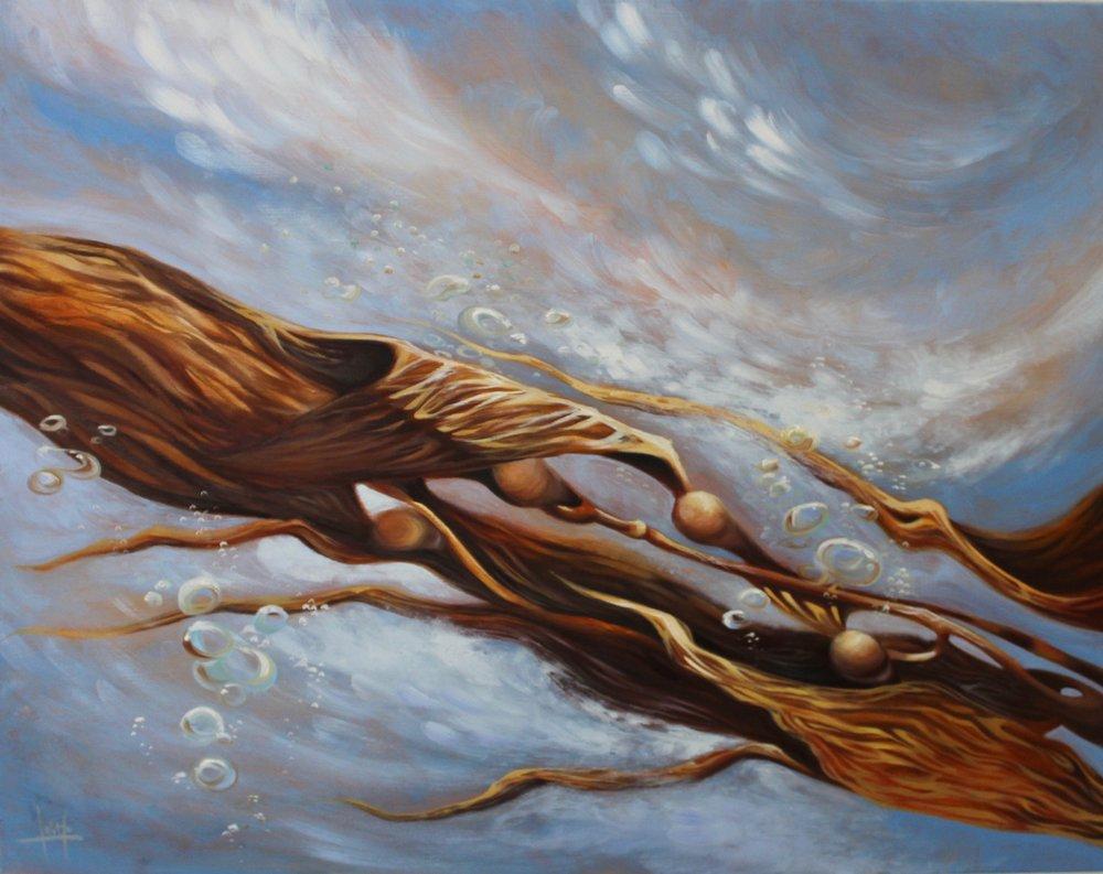 """California Dreams"" Oil on Canvas"