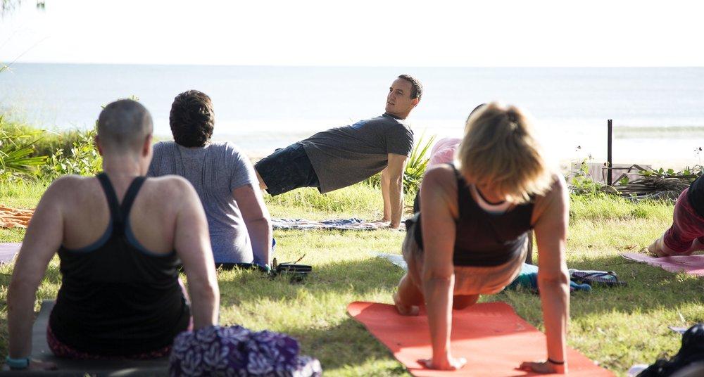 Yoga at Agnes