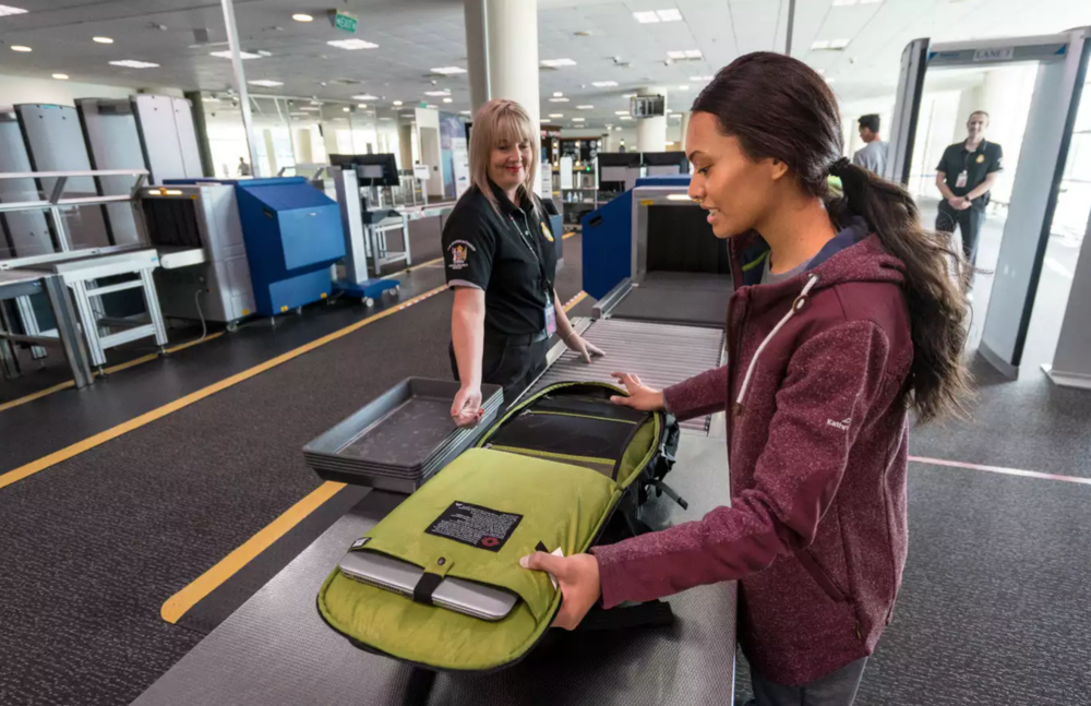 Keep your laptop in your bag with a TSA approved sleeve