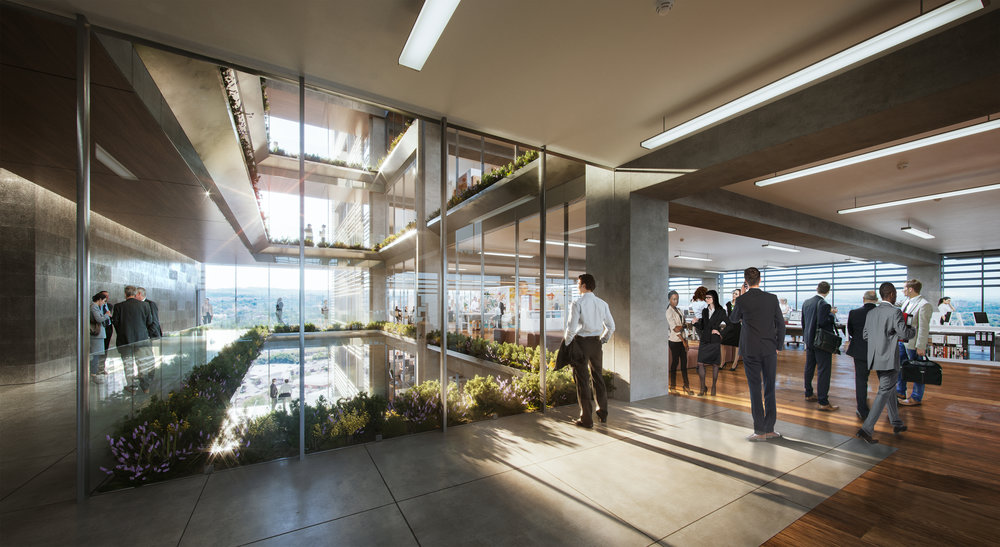One KVB Circle atrium entrance to office floors.jpg