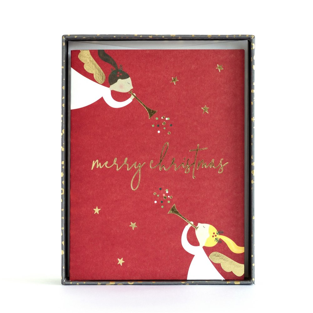 boxed holiday card at Target — sara hicks malone