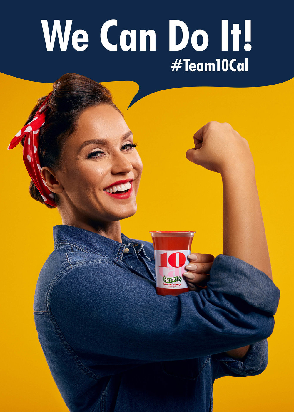 Vicky Pattison re-creates the iconic We Can Do It image for #Team10Cal.jpeg