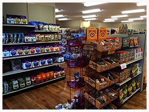 We have a HUGE selection of treats and biscuits.  Your pet's safety is our top concern - so all of our treats are made in USA!