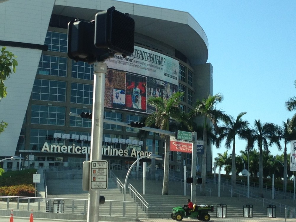 American Airlines Arena - Instagram: #WhiteHotHeatFans
