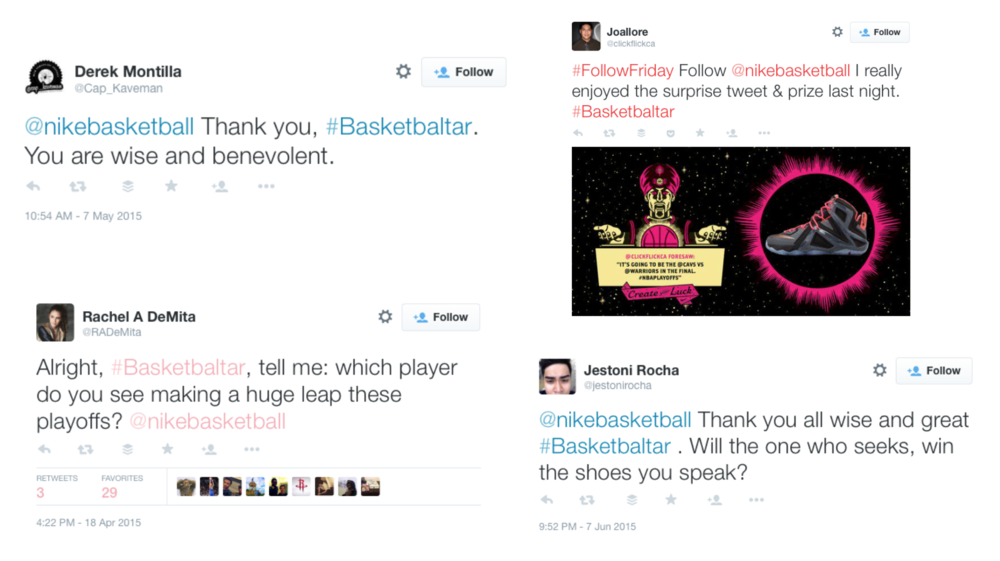 Social Media Reactions Nike