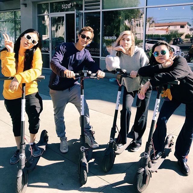 In LA we ride Birds. #ScooterSquad 🛴