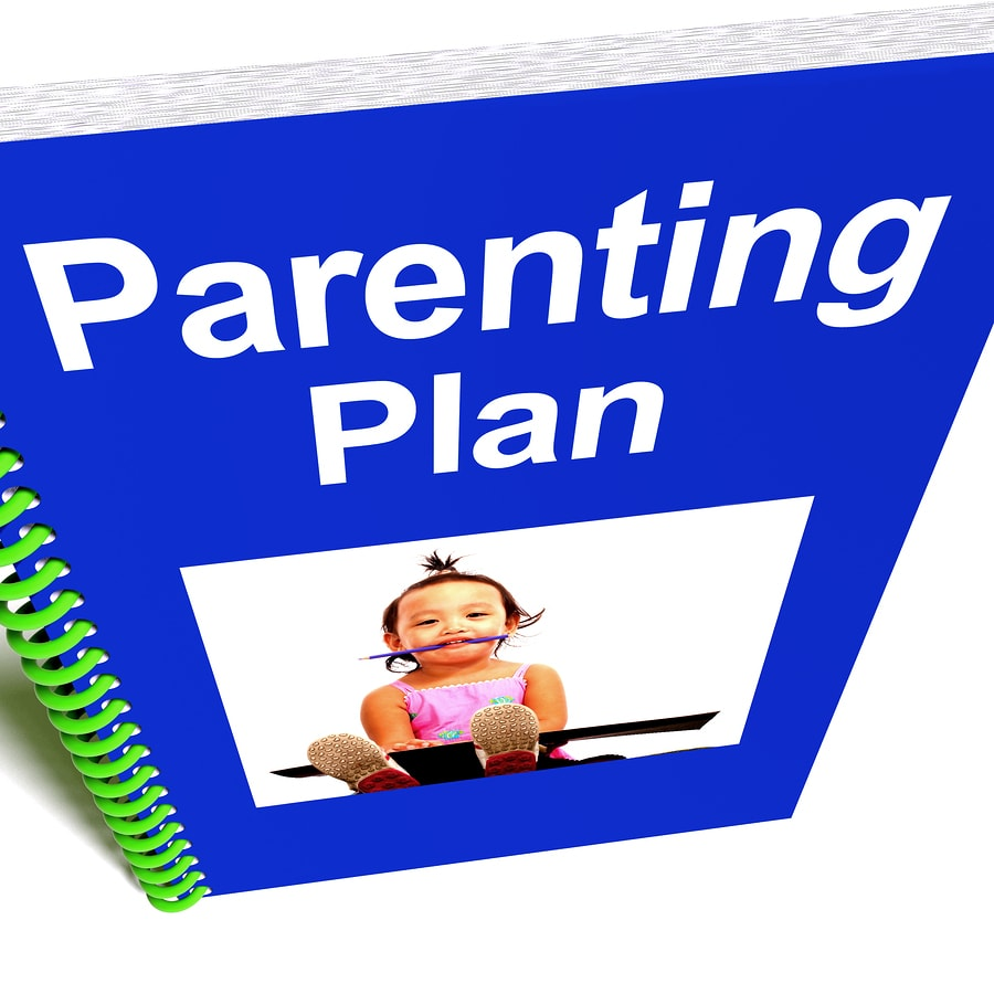 divorce mediation - parenting plan
