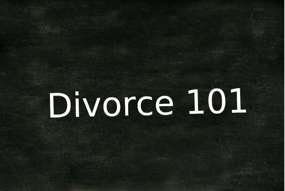 divorce 101 - divorce mediation