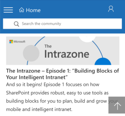 Listen Up: A New SharePoint Podcast from the Product Team - Released Bi-Weekly, you'll want to subscribe to this one.