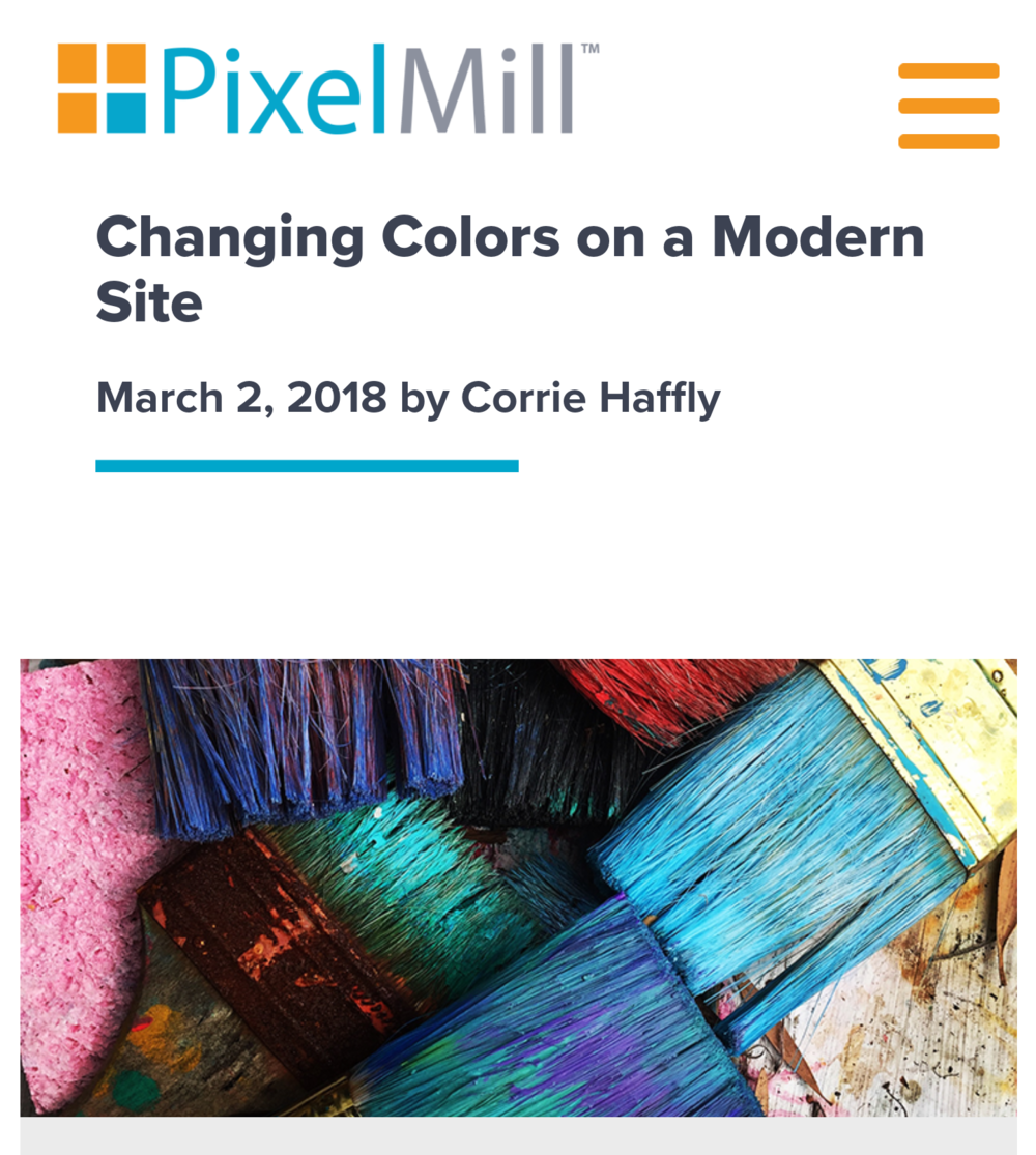 Change the Colors of Modern SharePoint Sites - Modern SharePoint Essentials. (PixelMill)