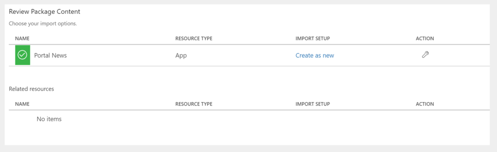 Import the App   You can follow   these instructions   for importing PowerApps after you've downloaded our app from   this link  .