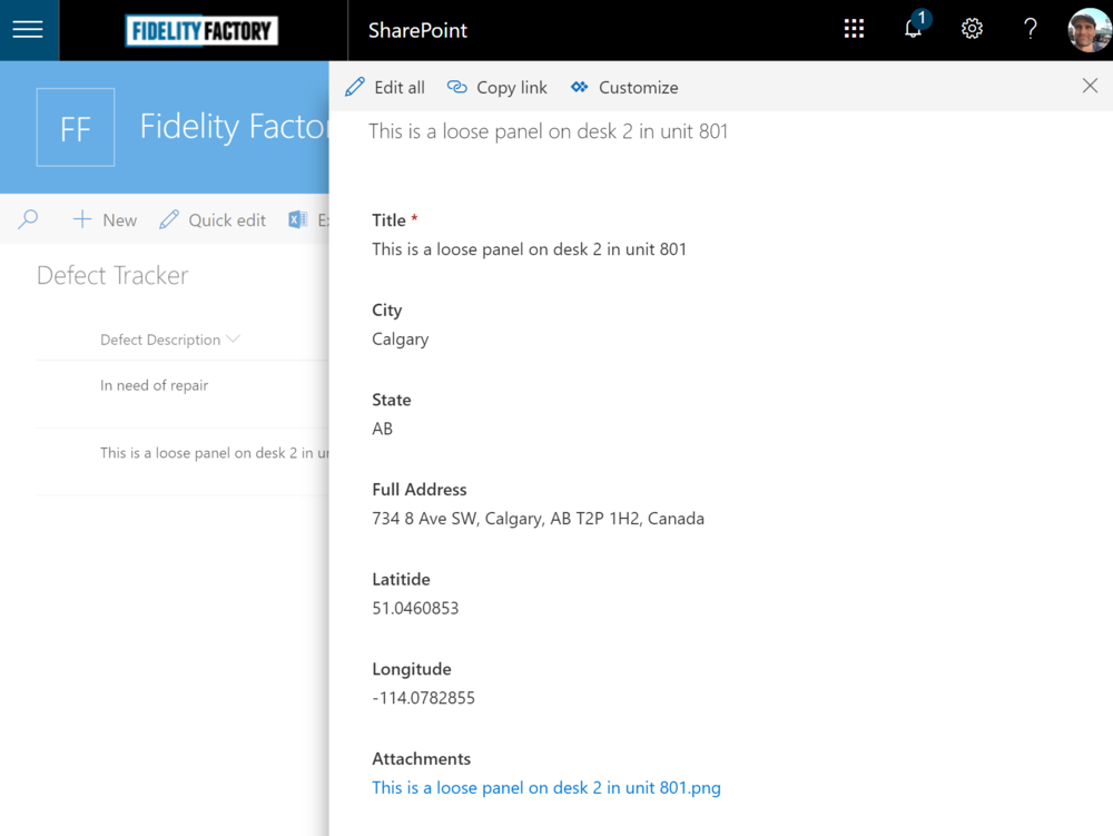 Flow Button to SharePoint