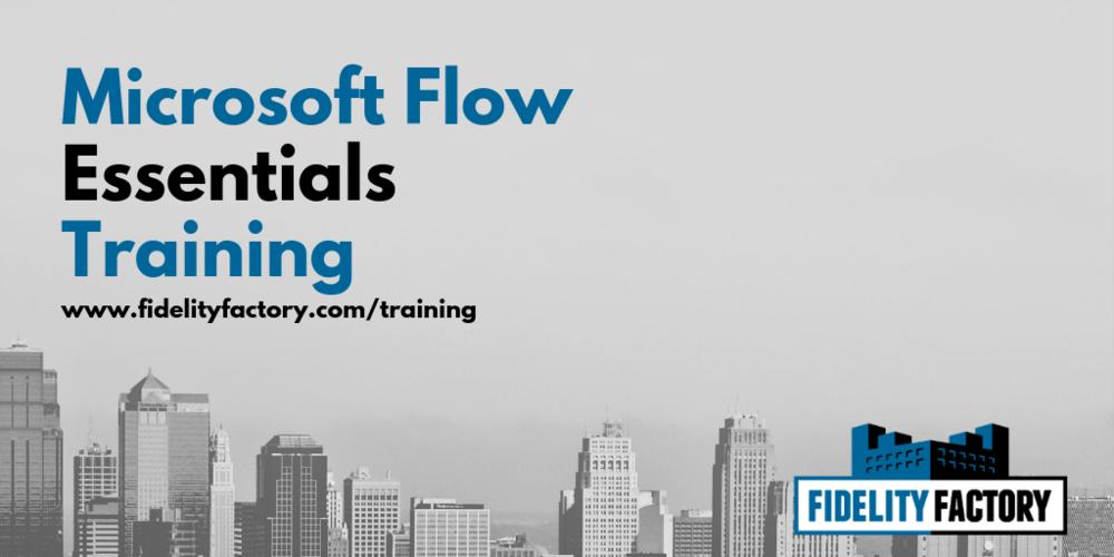 Microsoft Flow Business Essentials