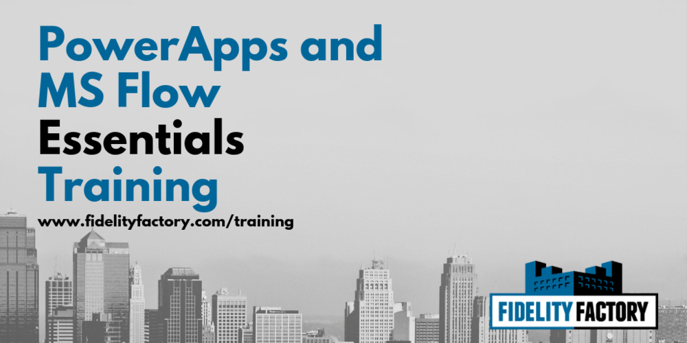 Deep Dive Training for PowerApps and MS Flow