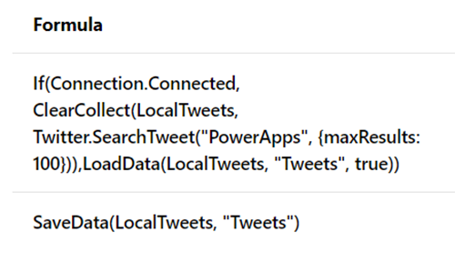 Save Data and Load Data Functions - If you would like your PowerApps to work whether they are connected or disconnected, this article will help you get started
