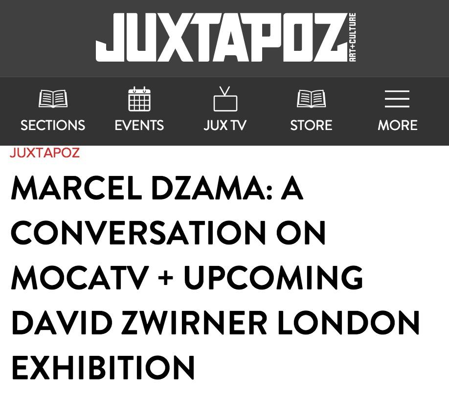 Juxtapoz.com, March 2013