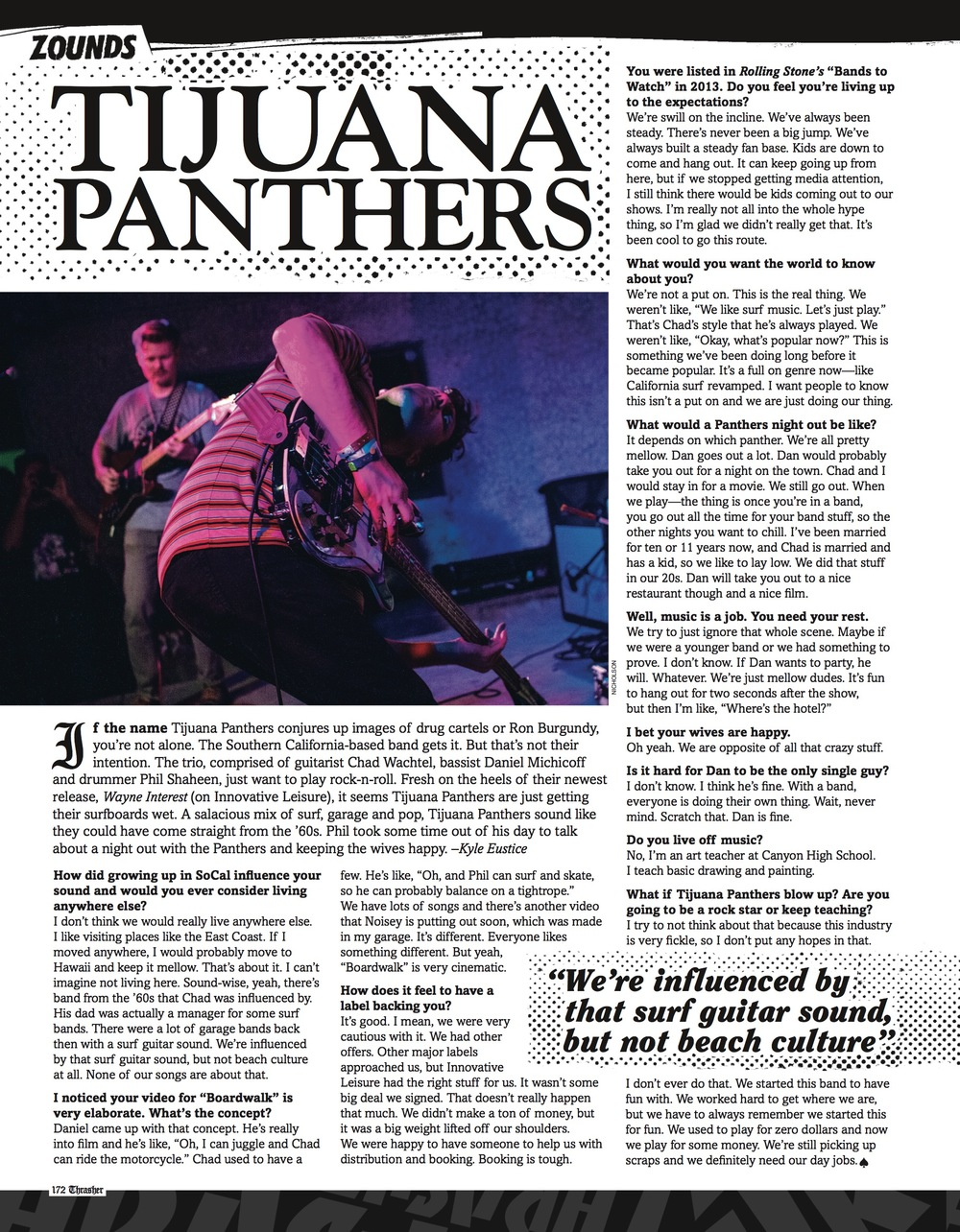 Tijuana Panthers at SXSW for Thrasher Magazine, Sept. 2014