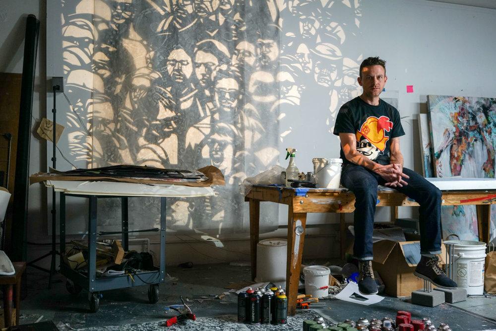 Adam Feibelman for  Juxtapoz