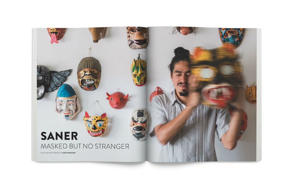 Juxtapoz Magazine , November 2017. Read the interview  here.