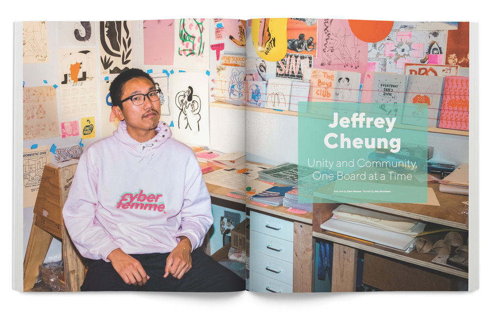 Jeffrey Cheung for the Summer 2018 issue of  Juxtapoz Magazine.