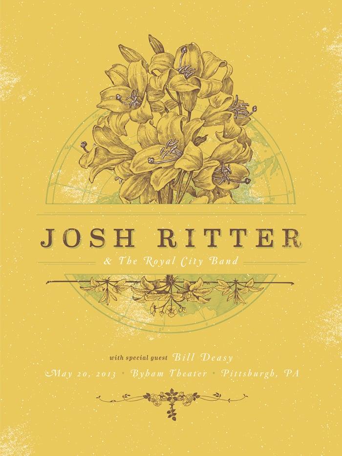 JoshRitter-2013PittsburghPoster