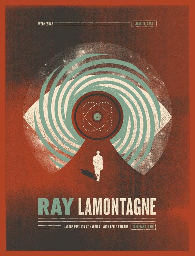 RayLamontagne-Cleveland-Poster