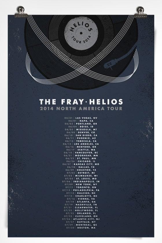 TheFray-TourPoster