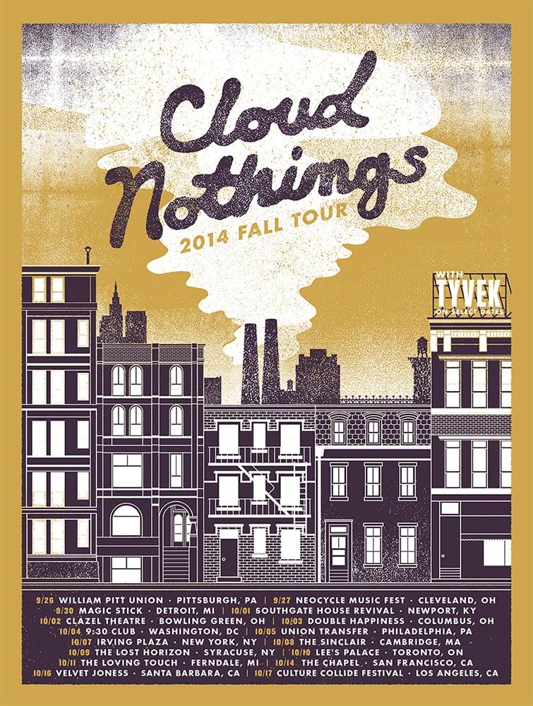 CloudNothings-FallTourPoster