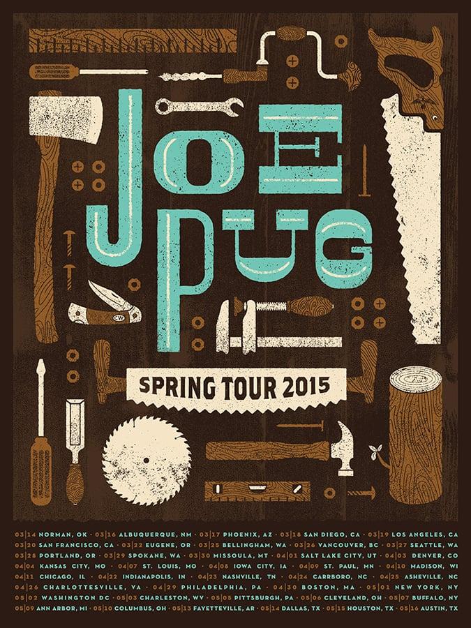 JoePug-FallTour-Poster