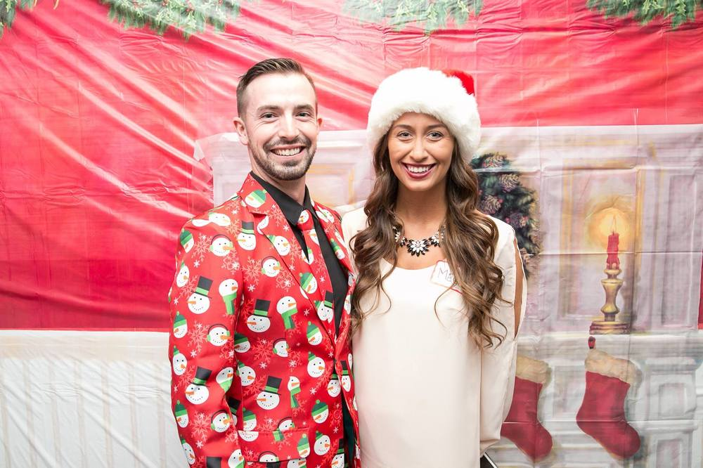 "Holiday Party: ""Santa Baby"" Themed"