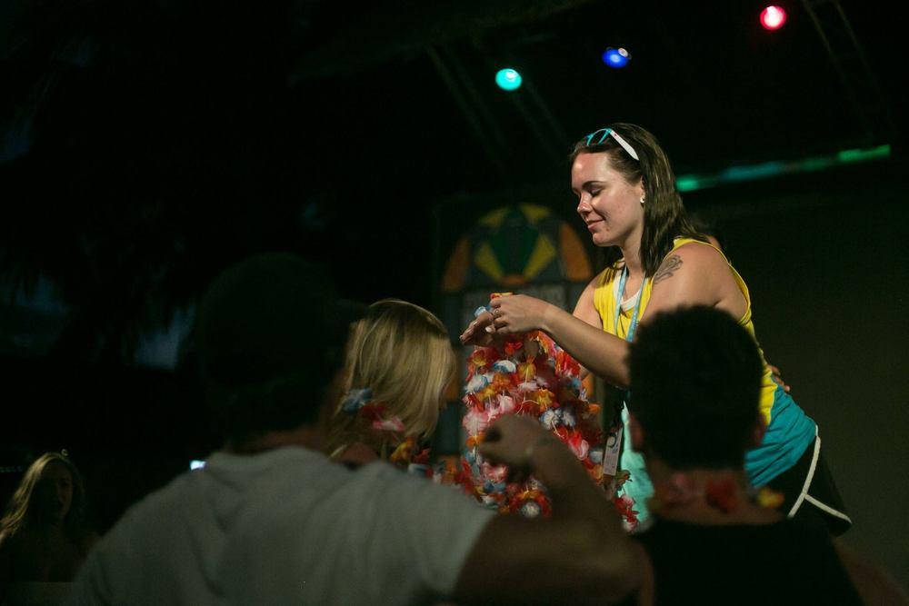 Staffing in Cayo Santa Maria - Hawaiian Luau Theme Night