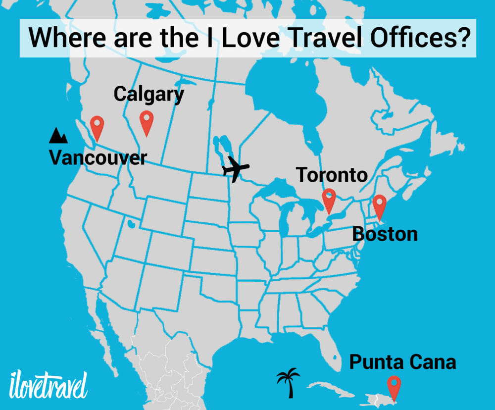 We travel to over 40 destinations, but we hang our hats at 5 offices around the world.