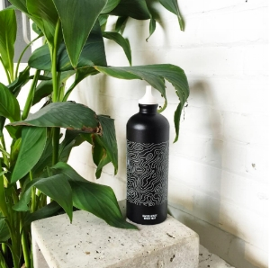 The I Love Travel X #LeaveOnlyFootprints X SIGG water bottle