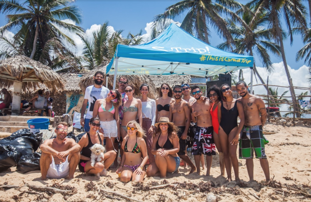 Our Team from Punta Cana Organized a Community Beach Clean Up and Restoration day.