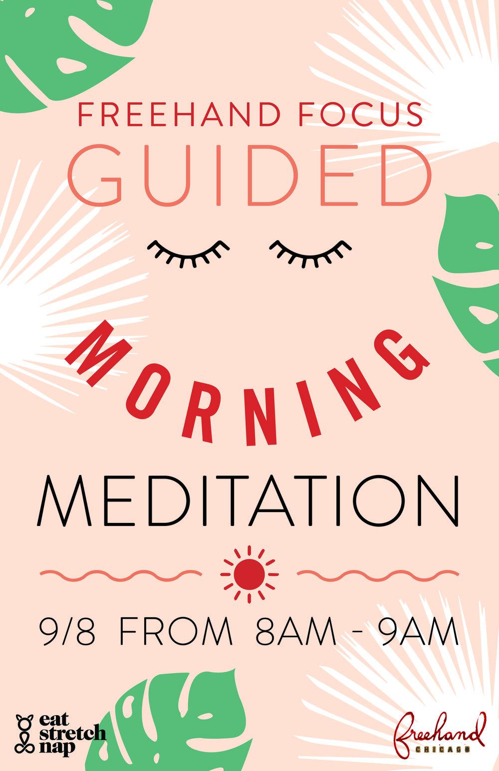 Cat Aldana Meditation Freehand Hotel Chicago
