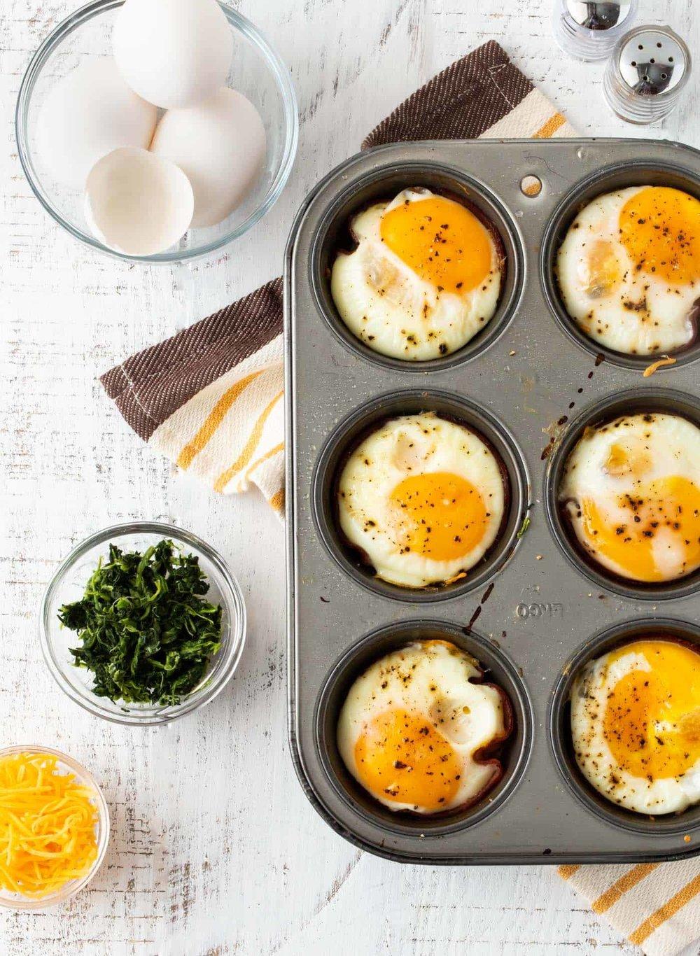 Summertime Snax - Veggie Egg Cups