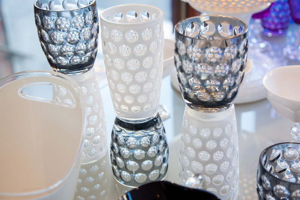 SYNTHETIC CRYSTAL-Lente Tumblers